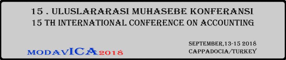 15.Uluslararası Muhasebe Konferansı